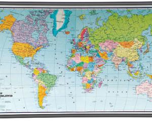 Svijet politički zemljovid