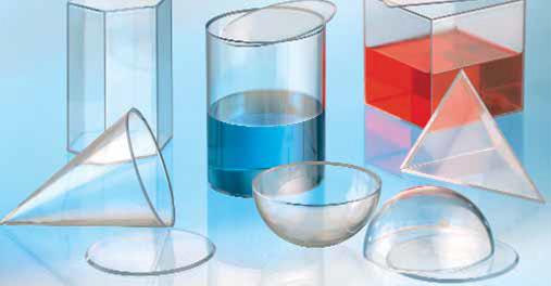 Geometrijska tijela prozirna