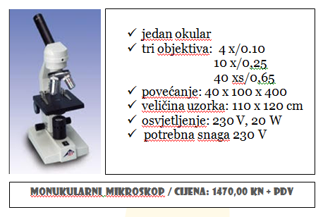 Ponuda mikroskopa 1