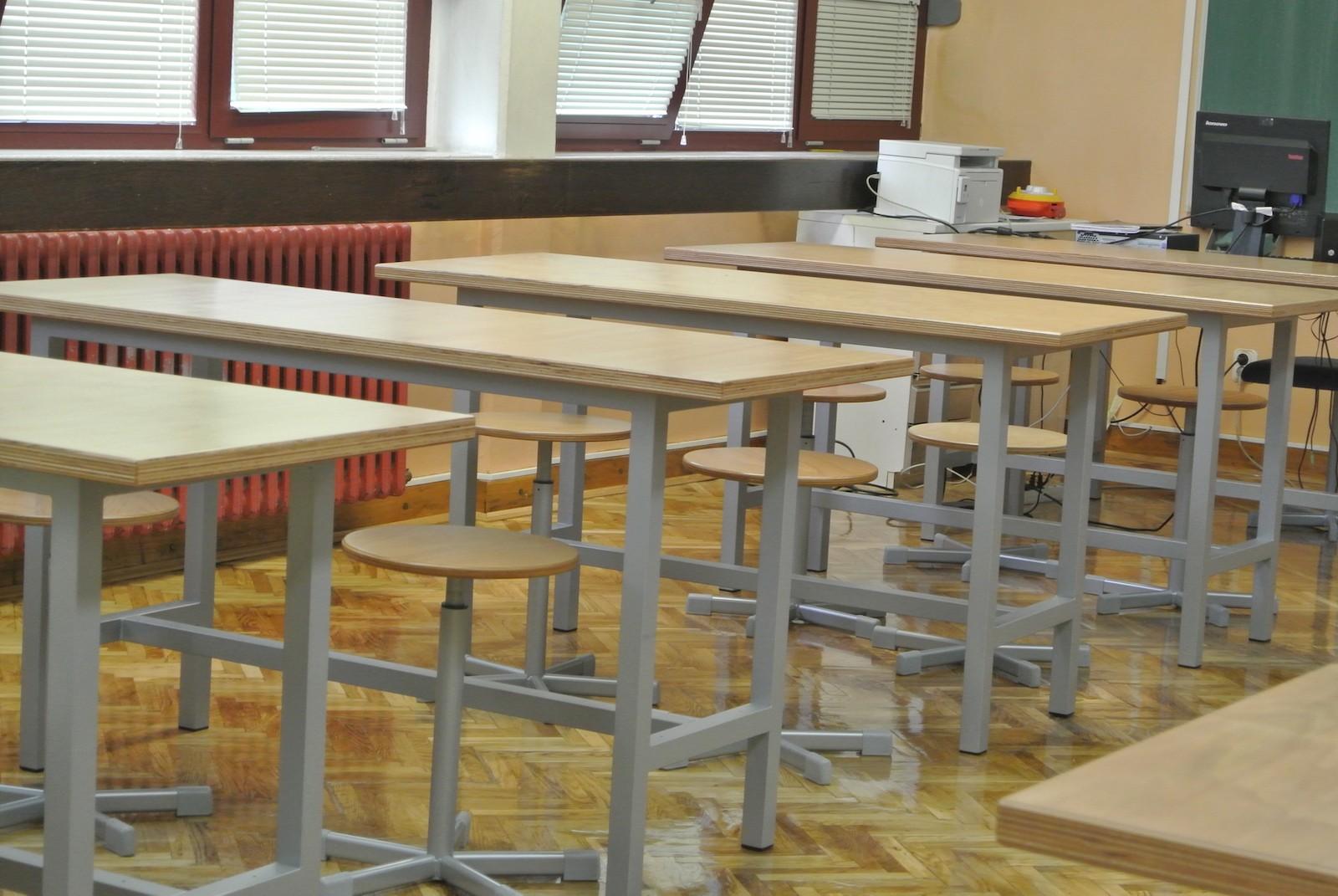Učionica tehničkog odgoja u novom ruhu
